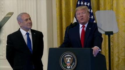 """Comunidad internacional critica el """"acuerdo del siglo"""" de Trump"""
