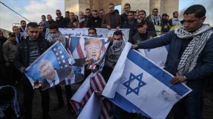 """""""Palestinos, unidos, frustrarán el nuevo complot de EEUU e Israel"""""""