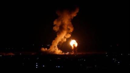 Nuevo ataque israelí, regalo de 'acuerdo del siglo' para Gaza