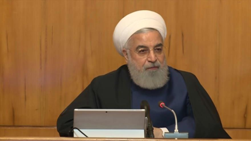 """Rohani: Plan de paz de EEUU es el """"más despreciable del siglo"""""""