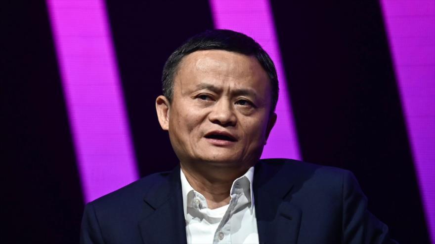 Jack Ma, fundador de la millonaria empresa china Alibaba, habla en una feria en París (Francia), 16 de mayo de 2019. (Foto: AFP)