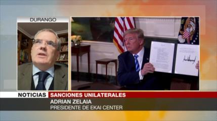 Zelaia: Trump sanciona al sector nuclear iraní por Israel y Riad