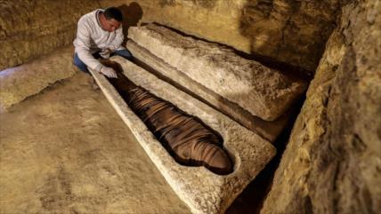 Fotos: Egipto halla tumbas de sacerdotes de 3000 años de antigüedad