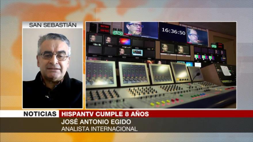 Egido: HispanTV, un éxito informativo frente a mentiras del imperialismo
