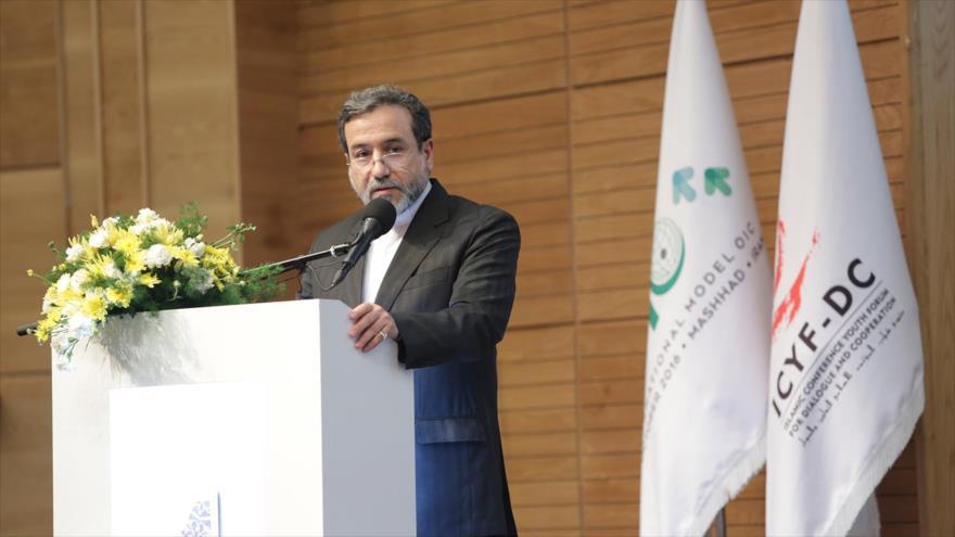 El vicecanciller iraní para Asuntos Políticos, Seyed Abás Araqchi.