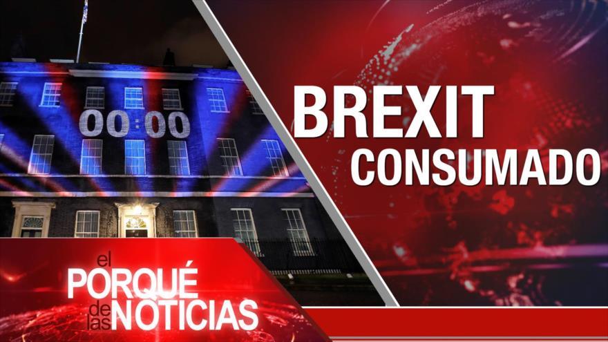 El Porqué de las Noticias: Acuerdo del Siglo. Canal HispanTV cumple 8 años. Brexit