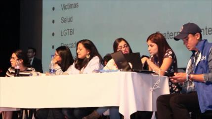 Líderes sociales denuncian la situación de territorios en Colombia