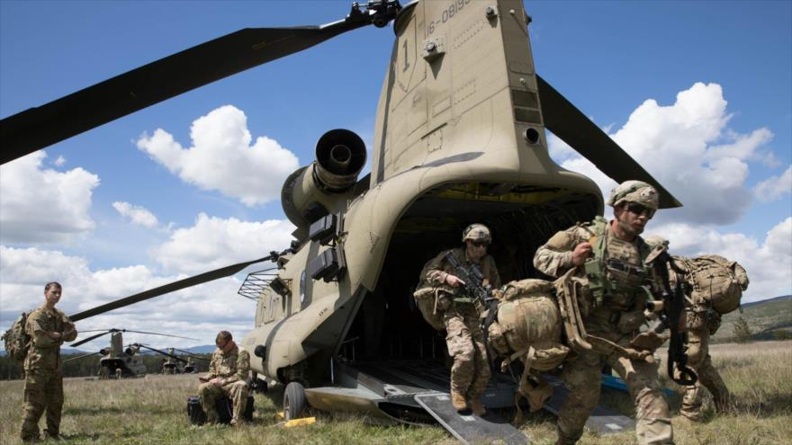 Fuerzas de EEUU durante ejercicios militares en Udbina, Croacia, 16 de mayo de 2019. (Foto: usar.army.mil)
