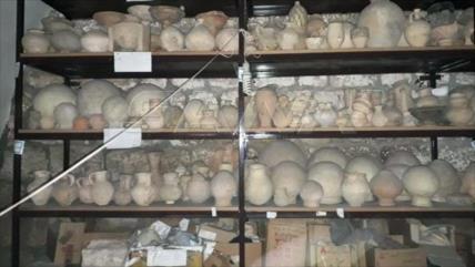 Siria recupera gran cantidad de antigüedades escondidas en Idlib