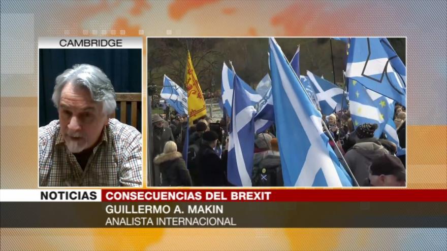 "Makin: Reino Unido enfrentará ""enormes dificultades"" tras Brexit"