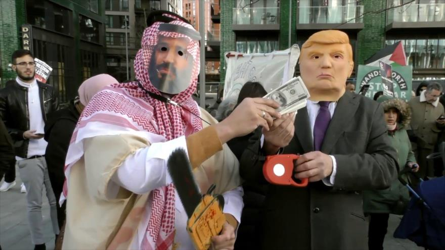 """Ola de rechazo en el mundo al """"acuerdo del siglo"""" de Trump"""