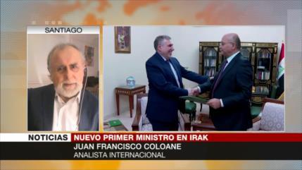 Coloane: Nuevo premier iraquí ha de luchar contra injerencias de EEUU