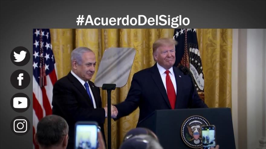 """Etiquetaje: Rechazo mundial a polémico """"acuerdo del siglo"""" de Trump"""