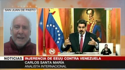 Santa María: EEUU ataca Venezuela por 20 años sin poder doblegarla