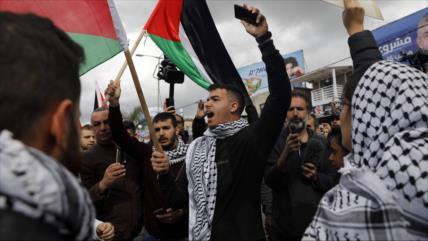 """Palestinos lanzan """"estrategia de lucha"""" contra acuerdo del siglo"""
