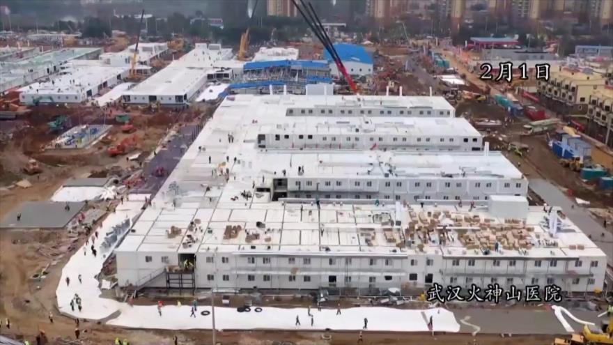 China finaliza el hospital de Wuhan en solo diez días | HISPANTV