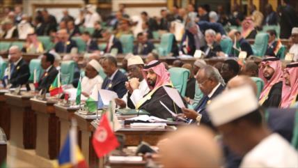 Riad impide participación de Irán en cumbre de la OCI sobre Palestina