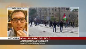 """Herranz: """"Acuerdo del siglo"""", trampa para humillar a palestinos"""