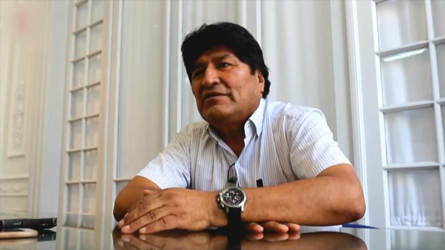 Morales confirma su intención de ser senador y volver a Bolivia