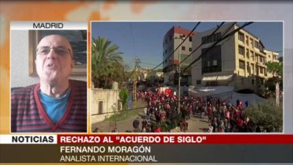 Moragón: El acuerdo del siglo es una tomadura de pelo