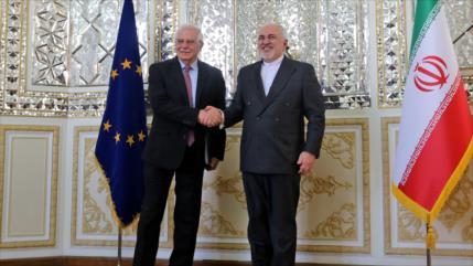 Borrell y Zarif abordan tensiones sobre el pacto nuclear