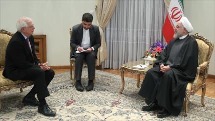 Irán, listo a interactuar con la UE para arreglar problemas