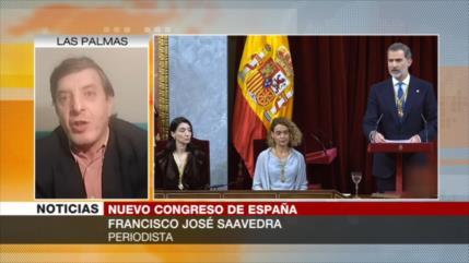 Saavedra: Apertura de la XIV legislatura en España será complicada