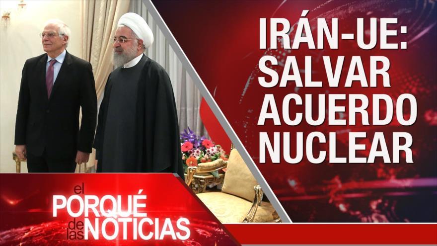 El Porqué de las Noticias: Visita de Borrell a Irán. Visita de Netanyahu con Abdel Fattah al-Burhan. Elección del oponente de Trump