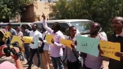Sudaneses repudian complots para normalización de nexos con Israel