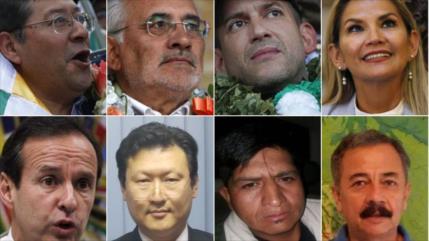 ¿Quiénes son los ocho candidatos de la Presidencia de Bolivia?