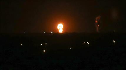 Aviones de guerra de Israel bombardean Franja de Gaza