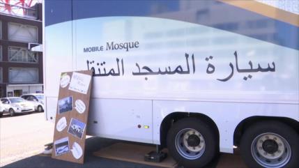 Crean mezquita móvil para atletas musulmanes en JJOO 2020