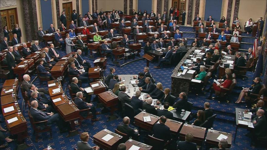 Impeachment sin sorpresa alguna: Senado absuelve a Trump | HISPANTV