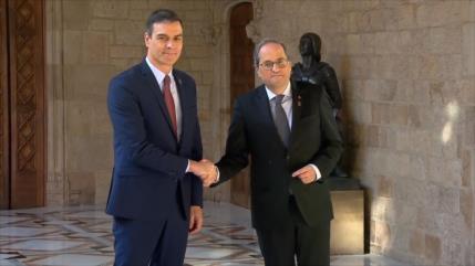 Sánchez y Torra presidirán la primera mesa de negociación