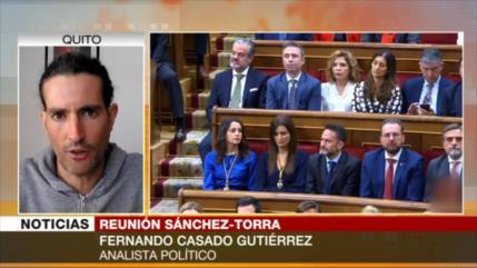 Gutiérrez: Sánchez y Torra no tienen otra salida sino entenderse