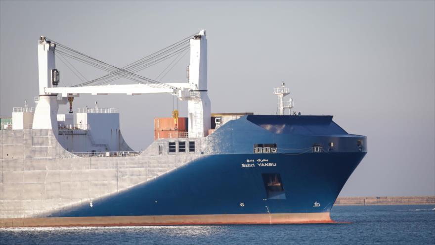 Barco saudí con armas para la guerra contra Yemen llega a Francia