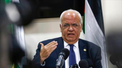 Erekat: Quien propuso plan anti-Palestina es responsable de crisis
