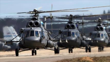 Lavrov: México negocia con Rusia compra de helicópteros militares