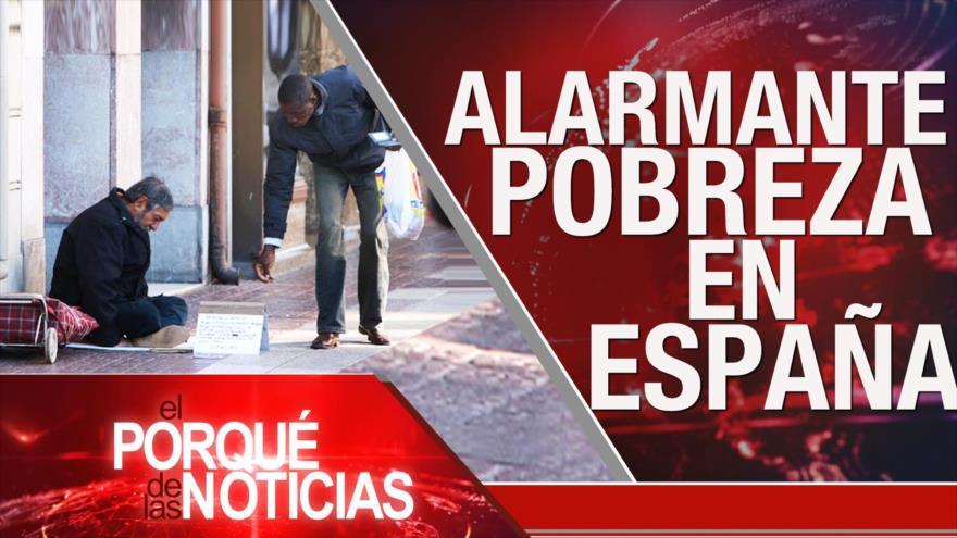 El Porqué de las Noticias: Acuerdo del Siglo. Rusia condena las políticas de EEUU. Pobreza en España