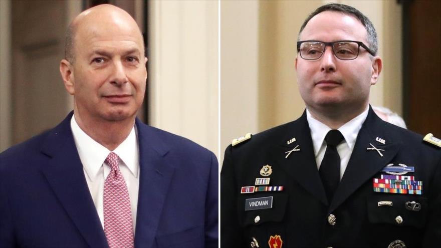 Trump despide a dos oficiales que testificaron en su impeachment | HISPANTV