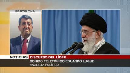 'Irán tiene que reforzarse militarmente para enfrentar presiones'