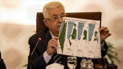 Palestina censura plan de Israel para alterar mapas de Cisjordania