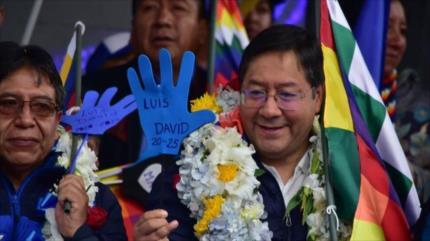"""Candidato de Morales arremete contra """"gobierno sangriento"""" de Áñez"""