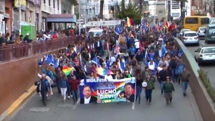 Comienza campaña electoral del partido MAS en Bolivia