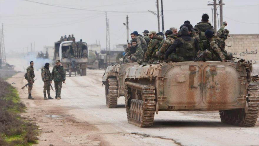 Ejército sirio anuncia liberación de 600 km2 entre Idlib y Alepo