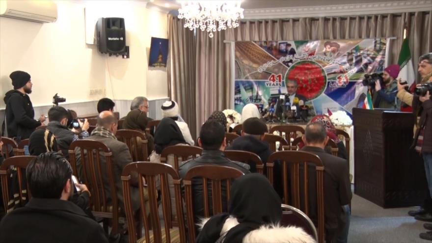 Siria conmemora 41.º aniversario de la Revolución Islámica en Irán