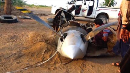 Fuerzas yemeníes derriban un dron espía saudí en Al-Hudayda