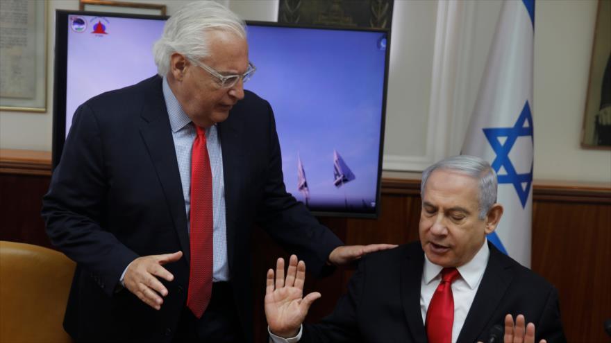 EEUU anima a Israel a anexionarse Cisjordania, pero le pide calma | HISPANTV