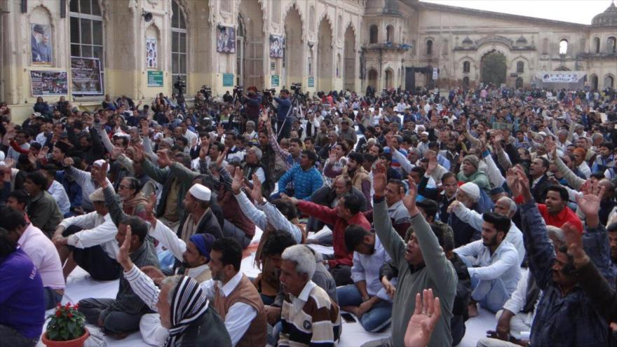 Los eventos conmemorativos celebrados en La India en recuerdo del general Qasem Soleimani, asesinado por EE.UU., 9 de febrero de 2020.