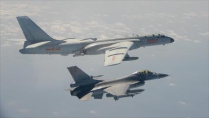 Aviones militares chinos sobrevuelan el espacio aéreo de Taiwán